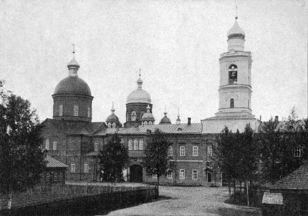 монастырь в глуши 4 буквы - фото 10